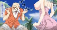 Dragon Ball 18+ ผู้เฒ่าเต่าเย็ดหีบลูม่า สาวน้อยแห่งดราก้อนบอลxxx
